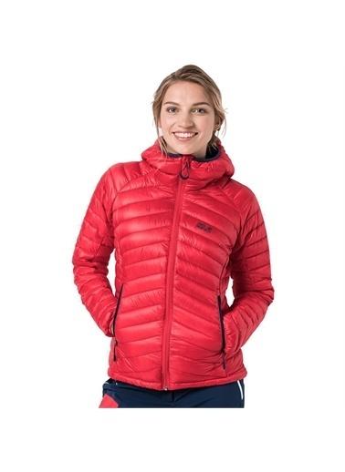 Jack Wolfskin Jack Wolfskin Mountain Down W Kadın Outdoor Ceket Kırmızı